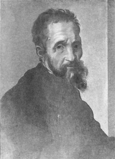 MICHELANGELO BUONAROTTI by Bugiardini Uffizi